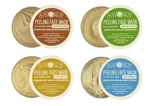 Пилинг маски для лица