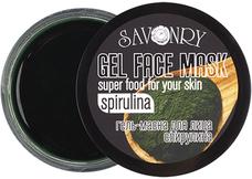 натуральное Гель-маски GEL FACE MASK (овощные) Спирулина