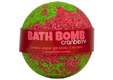 натуральное Шарики для ванн Cranberry (клюква, с маслами)
