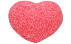 натуральное Шарики для ванн Сердце красное (с маслами)