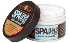 натуральное SPA - маска для волос PARFUM (парфюм Kenzo Aquamarine)