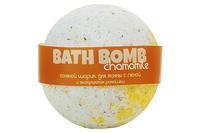 натуральное Шарики для ванн Chamomile (с экстрактом ромашки, с пеной)