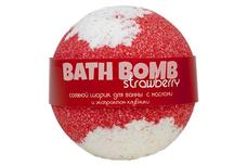 натуральное Шарики для ванн Strawberry (клубника, с маслами)