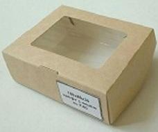 натуральное Подарочные коробки Подарочная коробка 100*80*35 (под мыло)