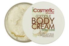 натуральное Icosmetic COCONUT (с кокосовой водой) Крем для тела с кокосовой водой (COCONUT)